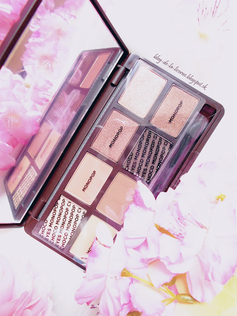 The Face Shop Choco Mono Pop Eyeshadow Palette Dark Chocolate Review
