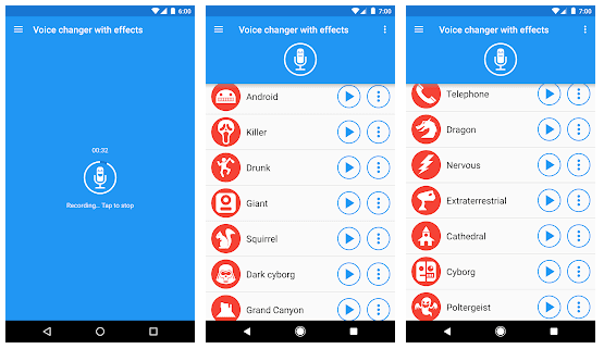 Voice changer with effects v3.4.5 Premium Mod Apk LATEST