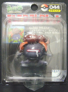 Gloom Pokemon figure Tomy Monster Collection black package series