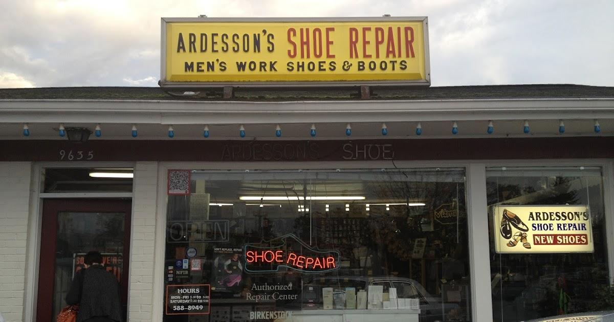 Ardesson Shoe Repair New Shoes