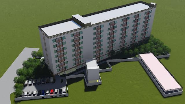 gambar apartemen animasi