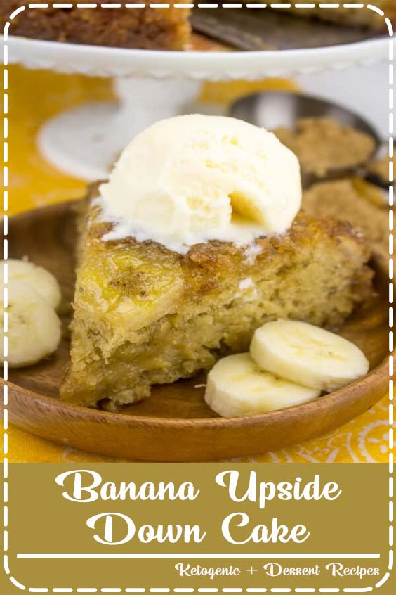 Caramel and banana collide in this perfectly delicious spin on a traditional cake Banana Upside Down Cake