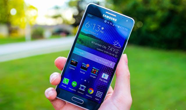 Samsung Galaxy Alpha smartphone paling tipis