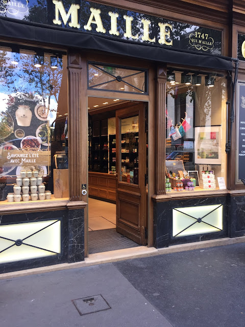 The mustard shop in Paris