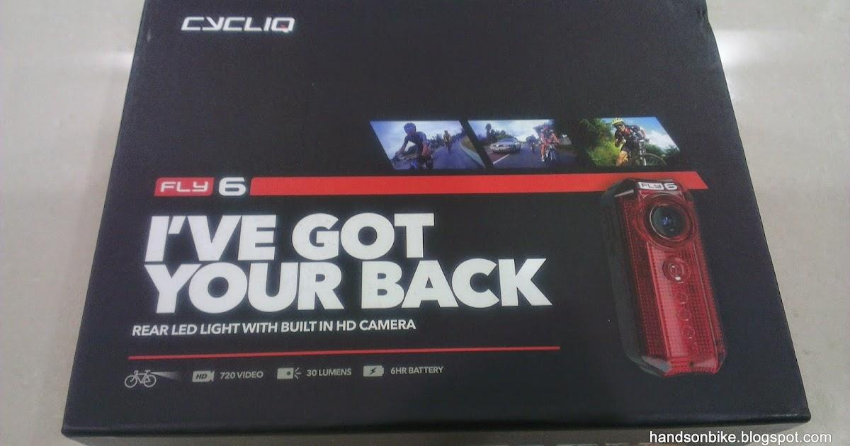 v LED Rear Light with Built in HD Camera FLY6 *@ Cycliq Fly6