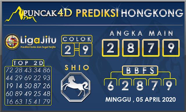 PREDIKSI TOGEL HONGKONG PUNCAK4D 05 APRIL 2020