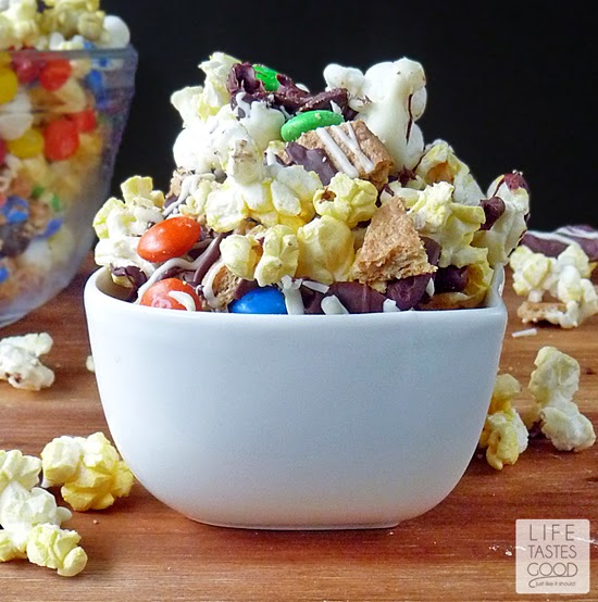 S'mores Popcorn | by Life Tastes Good