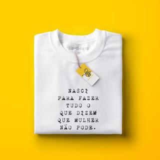 Camiseta Feminista - Mulher Pode
