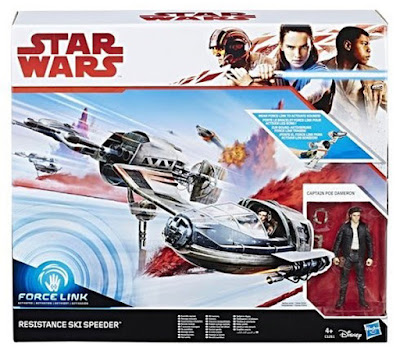 Hasbro Star Wars The Last Jedi Vehicle Resistance Ski Speeder