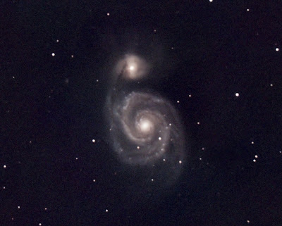 M 51, Galàxia a Canes Venatici,18/08/2021