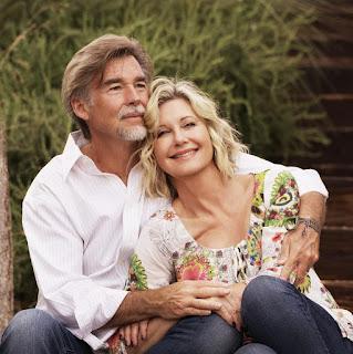 John Easterling with his wife Olivia Newton-John