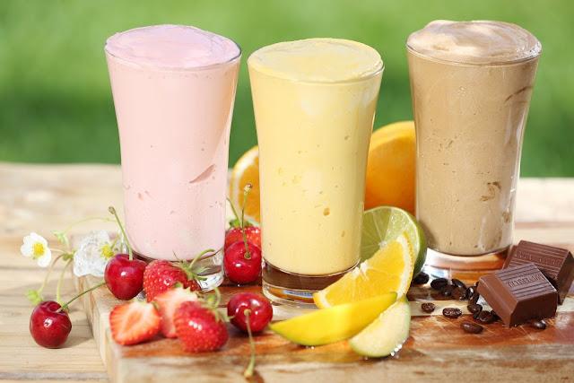 lezzetli shake tarifleri