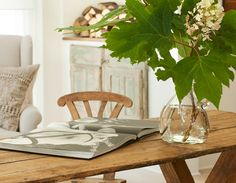 Shannon Bowers rustic organic wood dining room