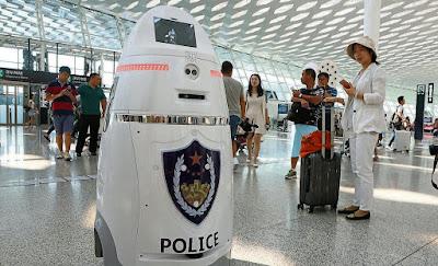 Robot Policía Knight 5