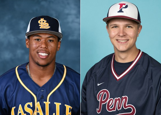 Chase Arnold (La Salle) and Mitchell Holcomb (Penn) earn Player of the Week honors
