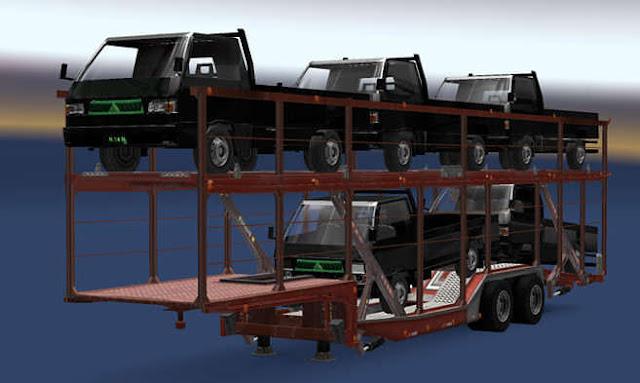 Download Trailer Mobil L300 Siba Surya Logistik SMT