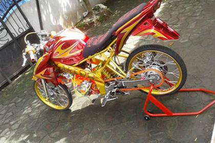 99+ modifikasi motor Yamaha Vixion Paling Terbaru 2019