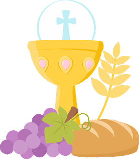 First Communion Objects Clip Art.