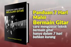 Panduan 7 Hari Mahir Bermain Gitar
