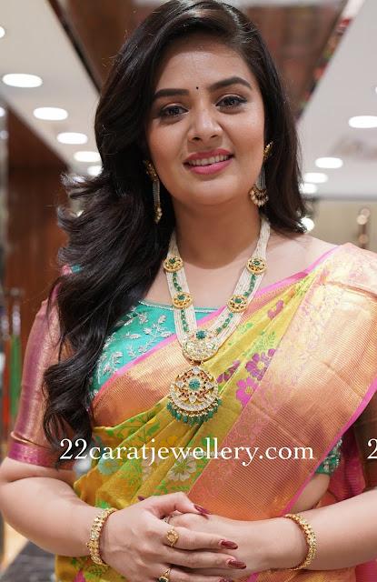 Srimukhi Pearls Kundan Long Set