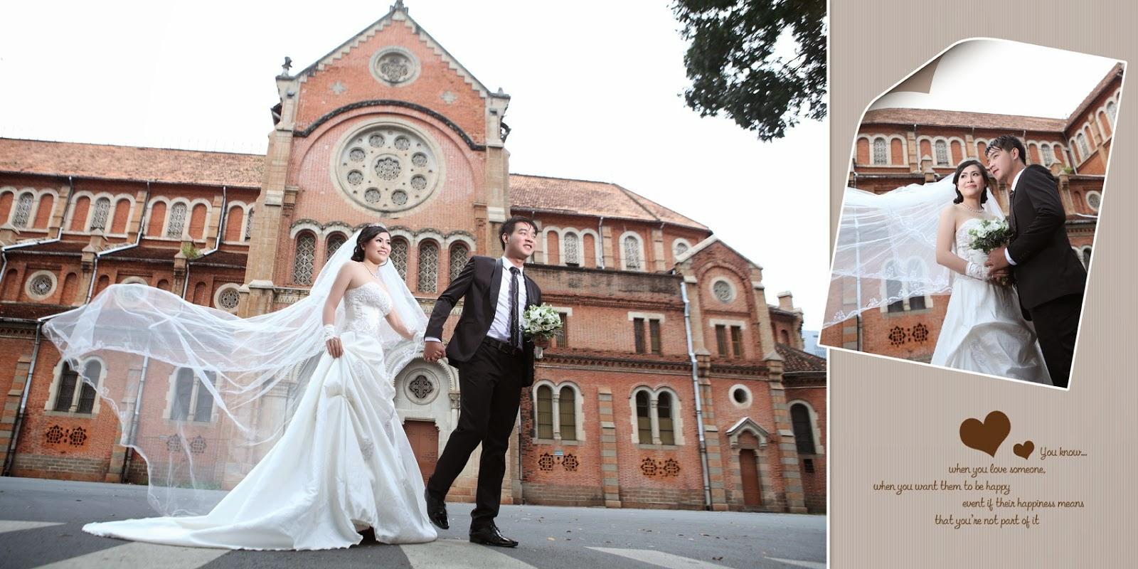 Một số địa điểm chụp ảnh cưới đẹp, giá rẻ ở Sài Gòn