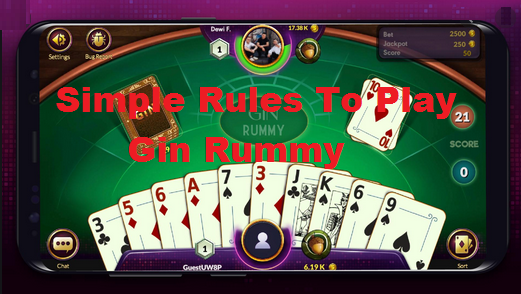 simple rules to play gin rummy here's the explanation