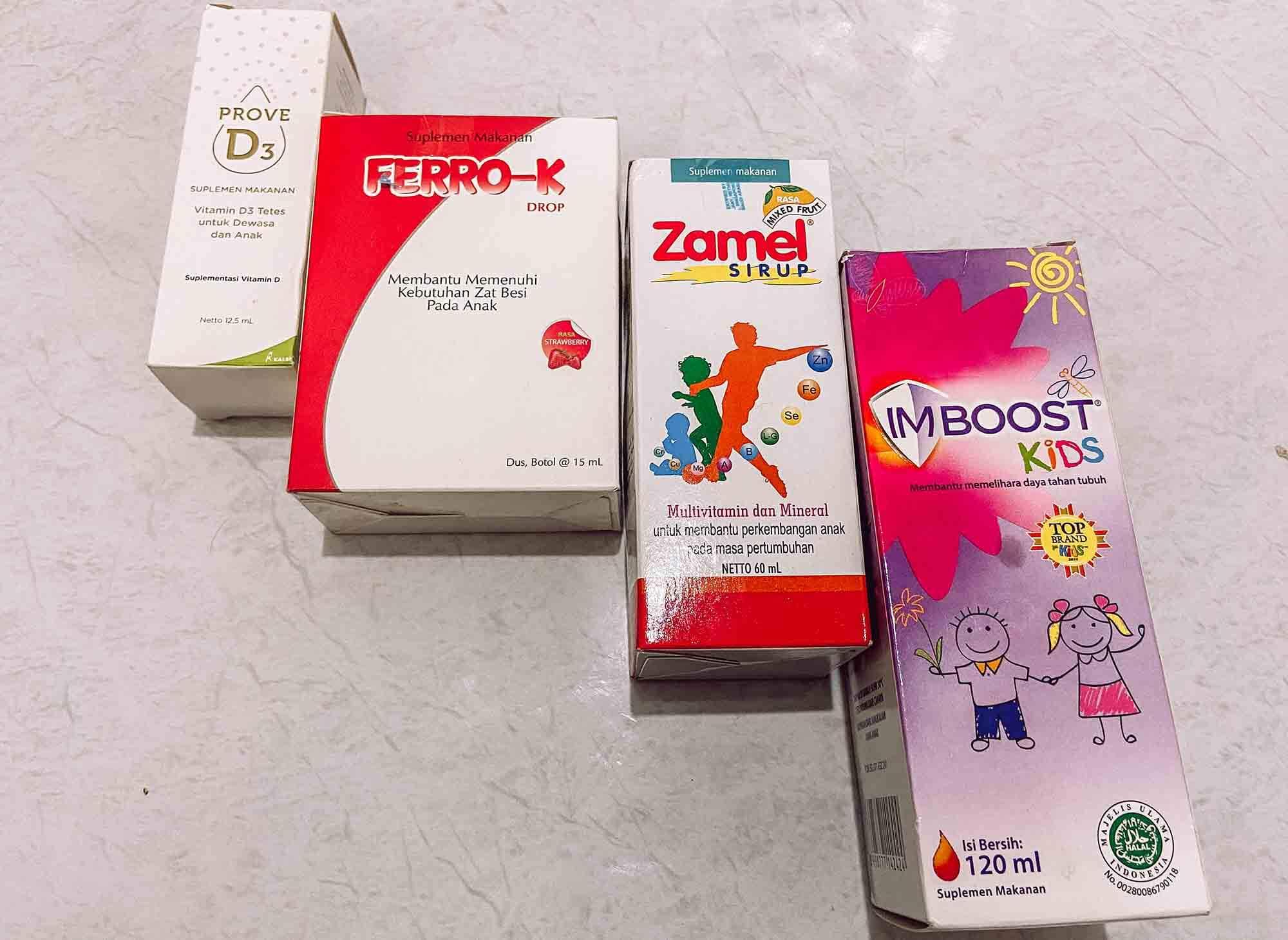 rekomendasi vitamin untuk anak