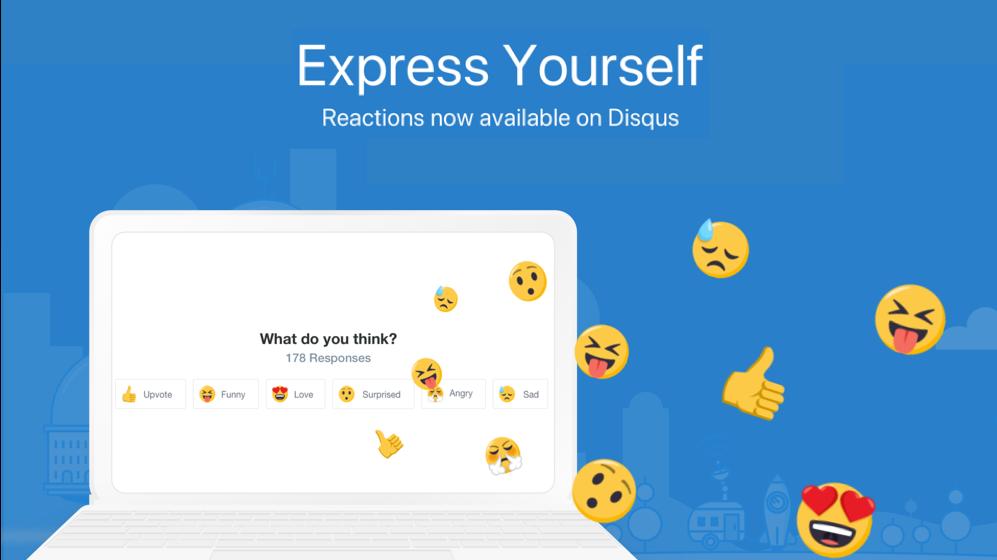 Gambar Ilustrasi Cara Menampilkan Tombol Reaksi Komentar Disqus Di Blogger Masih Terjaga Blog