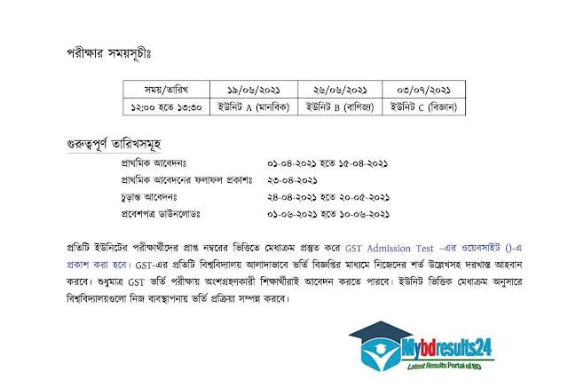 GST Admission org