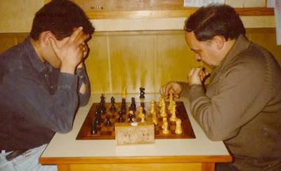 PArtida de ajedrez Joaquim Travesset Ribera - Jaume Anguera Maestro