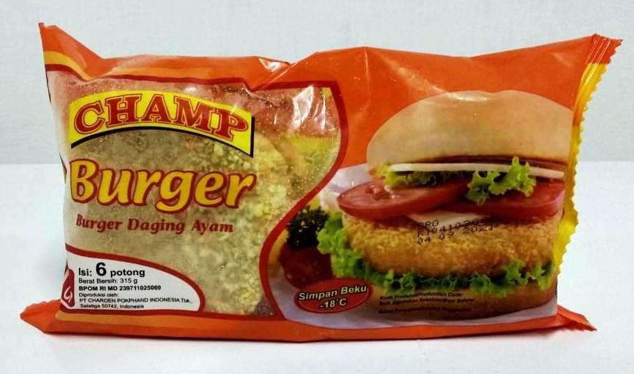 Burger Daging Ayam 6 potong
