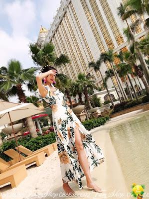 Shop ban vay maxi di bien o Quan Hoa