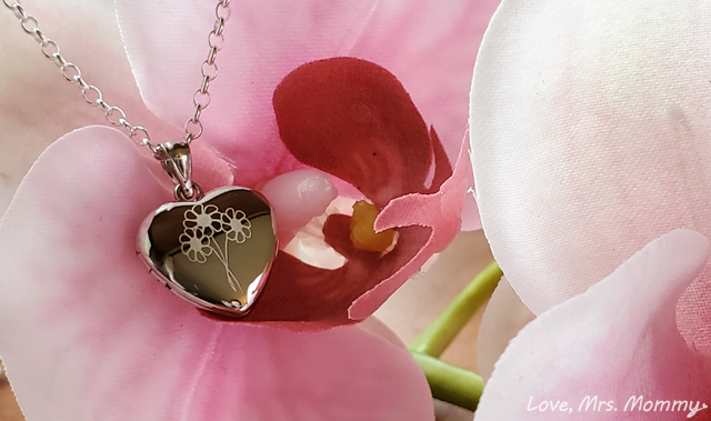 pictures on gold, heart locket, personalized jewelry, sterling silver jewelry, daisy jewelry