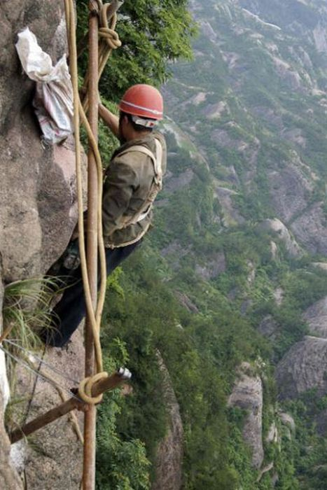 The World S Scariest Job Damn Cool Pictures