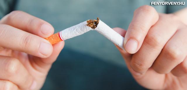 Sugárveszélynek minősítették a dohányt