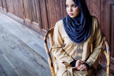 gaya pakaian hijab cantik