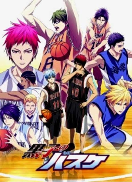 Rekomendasi anime winter 2015 terbaik dan terbagus - Kuroko no Basket 3rd Season