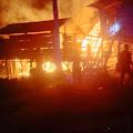 Kebakaran di Pasimasunggu Hanguskan 1 Unit Rumah Panggung