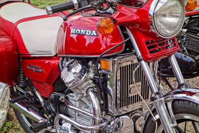 Viivi II - kuulemma Suomen tunnetuin yksitäinen moottoripyörä, tuttu niin tästä blogista kuin monista MP-näyttelyistä
