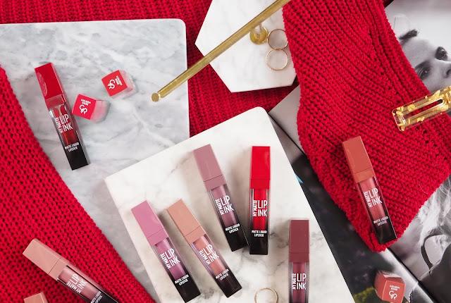 Golden Rose My Matte Lip Ink | Cała kolekcja - recenzja + swatche