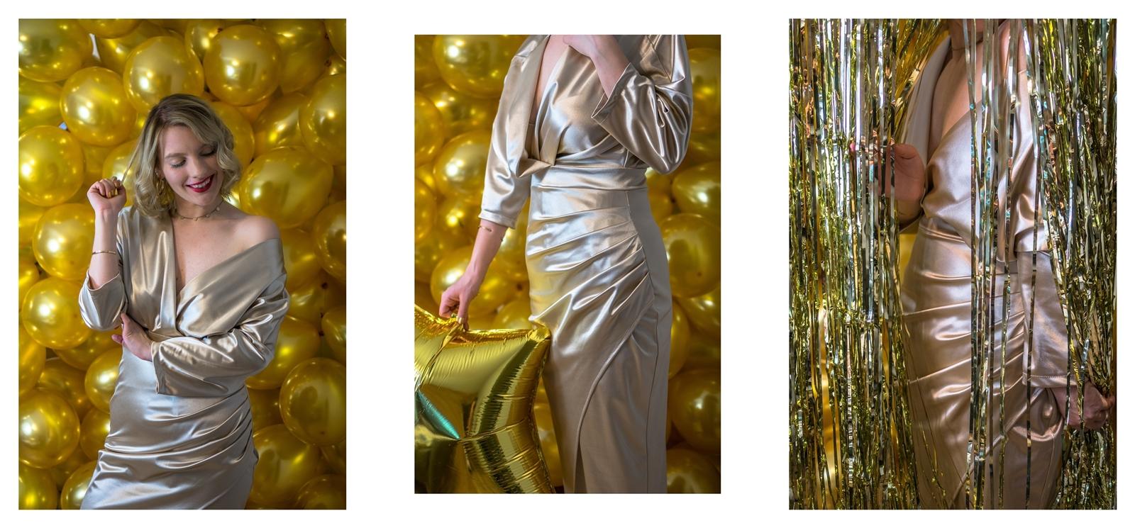 8a sukienki sylwestrowe z długim rękawem z dekoltem z frędzlami i cekinami błyszczące w co się ubrać na sylwestra jak się ubrać na bal sylwestrowy szkolny studniówkowy studniówka stylizacja