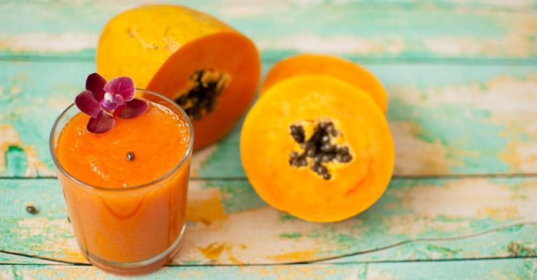 Khasiat dalaman jus buah betik