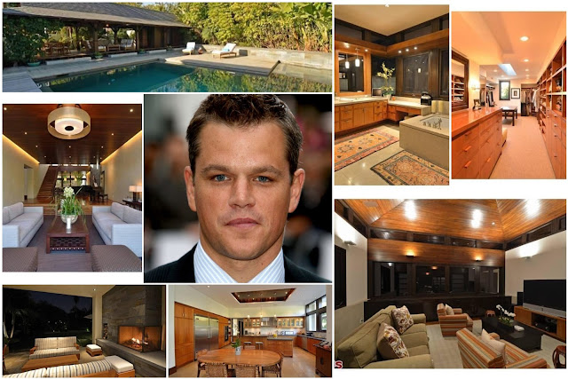 A Tour Inside The House Of Actor Matt Damon