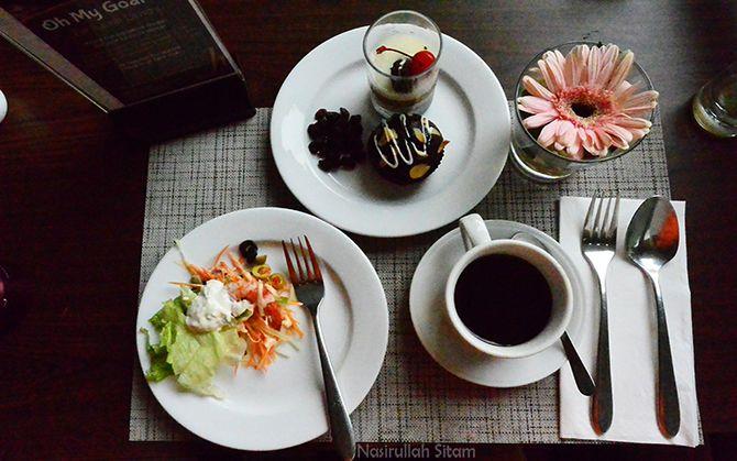 Menu sarapan pagi ini