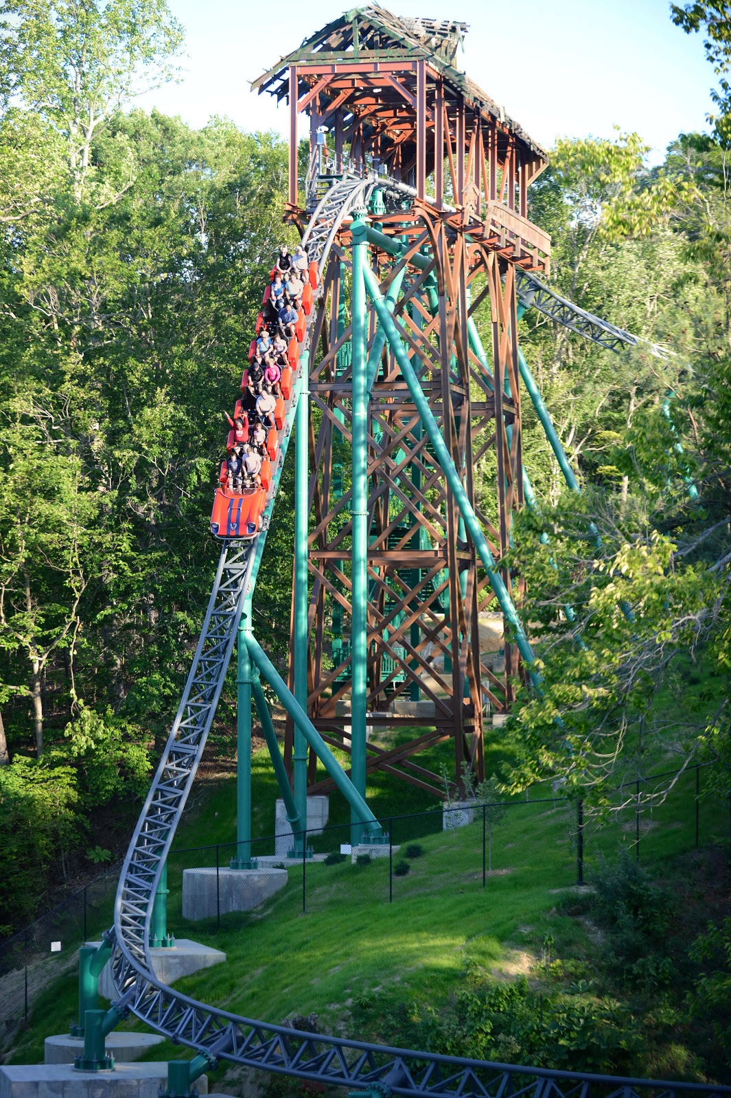 Theme park blog and podcast ride - Roller coasters at busch gardens ...