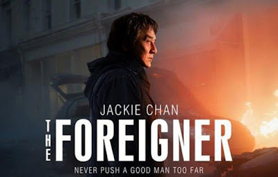 The Foreigner, Filem, Movie, English Movie, 2017, English Movie List In March 2018, Action Thriller, Poster, Pelakon Filem The Foreigner, The Foreigner Cast, Jackie Chan, Pierce Brosnan, Michael McElhatton, Liu Tao, Charlie Murphy, Orla Brady, Katie Leung,