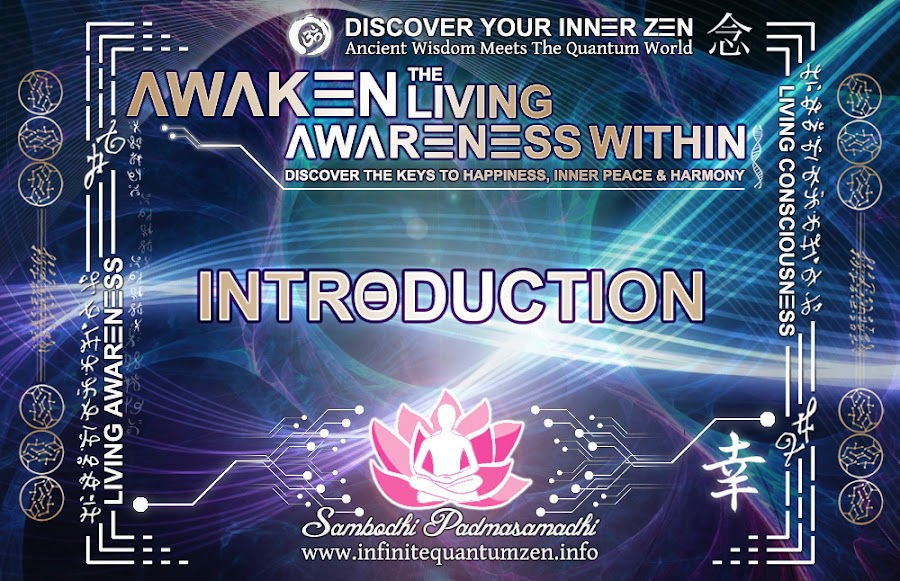 Introduction, Infinite living system life the book of zen awareness alan watts mindfulness key to happiness peace joy