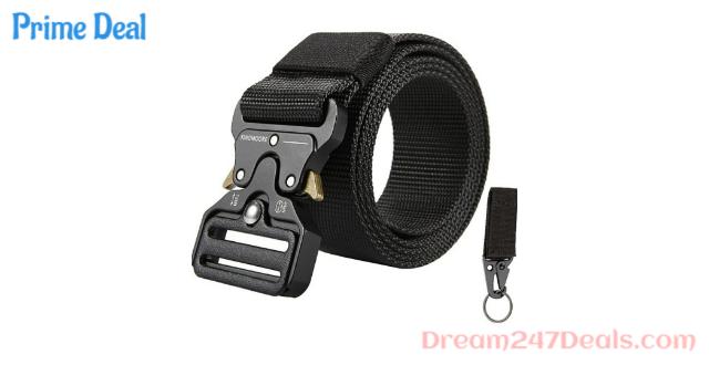 50% Off Adjustable nylon belt for men