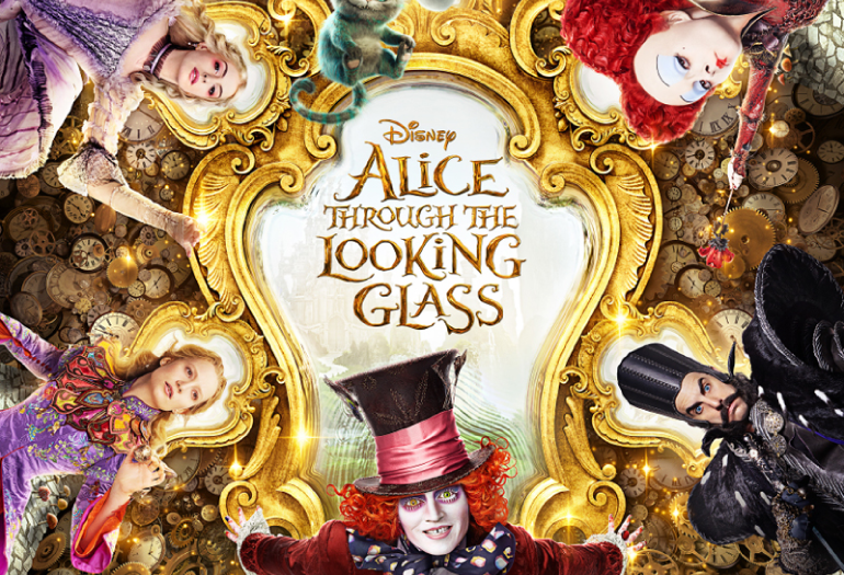 """Novo pôster, trailer e música de P!nk para """"Alice Através do Espelho"""" foram reveladas!"""