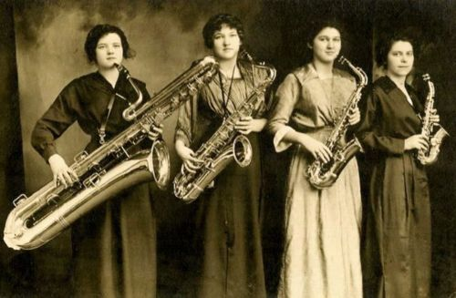 The Darling Saxophone Four in the 1920s